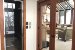 Steam Shower and Deck Entry